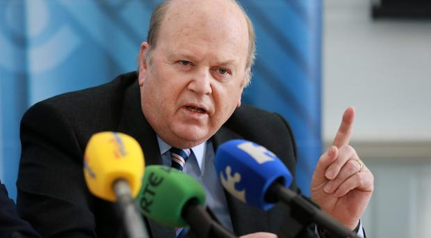 'Sensible steps': Finance Minister Michael Noonan