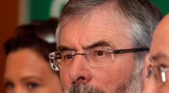 BOWING THE KNEE: Will Sinn Fein TDs Mary Lou McDonald, Gerry Adams and Caoimhghin O Caolain take orders from Belfast?