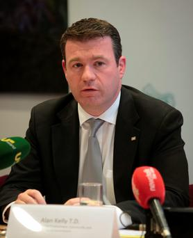 Under fire: Environment Minister Alan Kelly