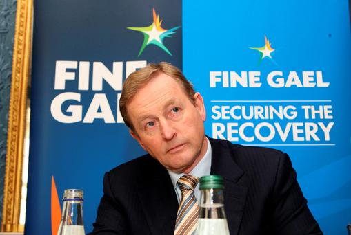 CONCERN: Enda Kenny has close links to the FG councillor