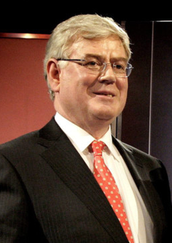 Eamon Gilmore: Former Tanaiste on the book circuit