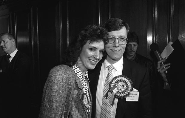 STEPPING DOWN: Northern Ireland First Minister and DUP leader Peter Robinson, pictured with his wife Iris, is to retire