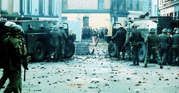 Bloody Sunday in Derry