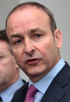 Micheál Martin: response of the Government 'ineffective'