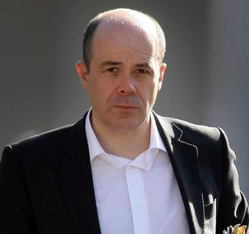 Independent TD Denis Naughten called on the Government to provide financial assistance to farmers who had lost fodder as a result of the recent flooding. Photo: Tom Burke