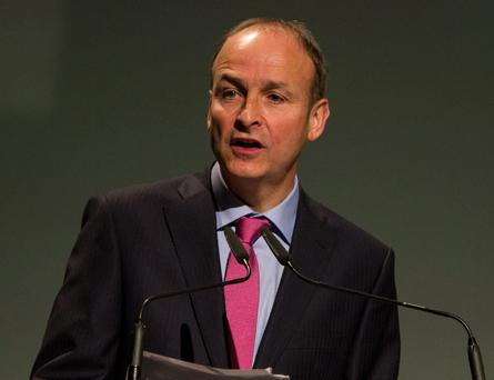 Micheál Martin. Photo: Mark Condren