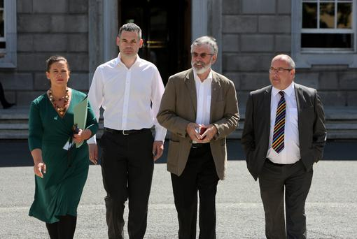 It is time the Sinn Féin TDs voiced different opinions. Photo: Tom Burke