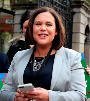 Mary Lou McDonald .Photo: Tom Burke