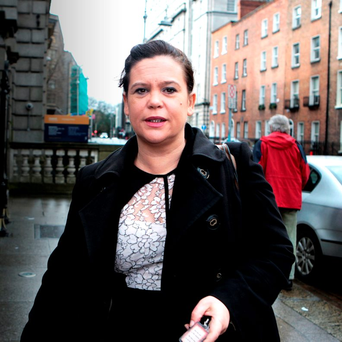 Sinn Fein deputy leader Mary Lou McDonald. Photo: Tom Burke