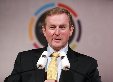 Recovery: Enda Kenny. Photo :Frank McGrath