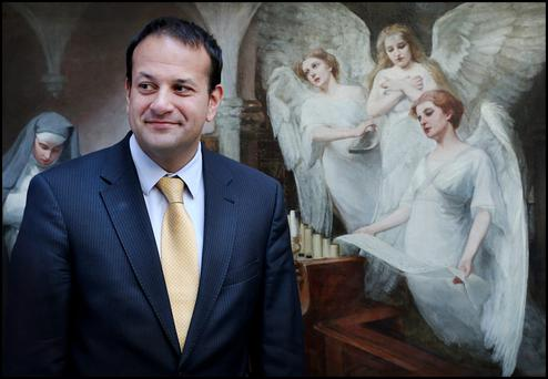 Looking ahead: Leo Varadkar is hotly tipped should Enda Kenny step down after the General Election.