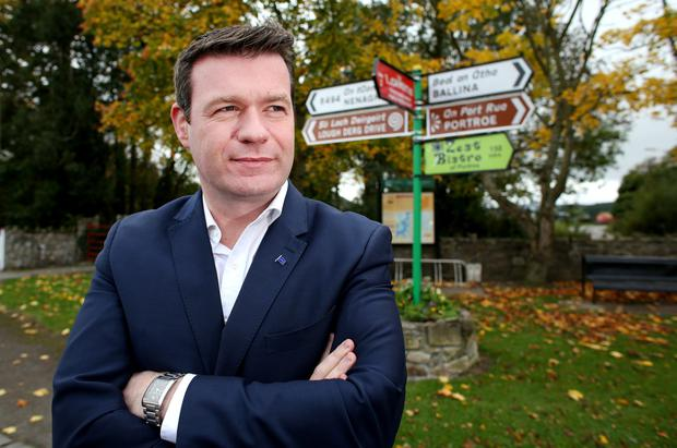 Alan Kelly admits he has ambitions to lead the party. Photo: Gerry Mooney