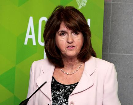 Tánaiste Joan Burton. Photo: Tom Burke