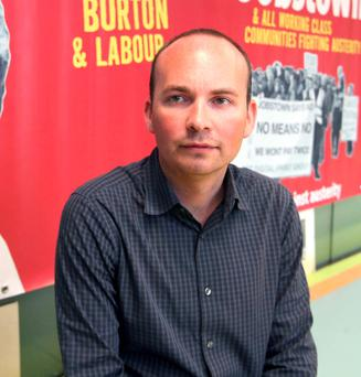 Anti-Austerity Alliance TD, Paul Murphy. Photo: Damien Eagers