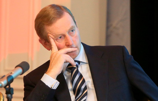 Enda Kenny. Photo: Damien Eagers