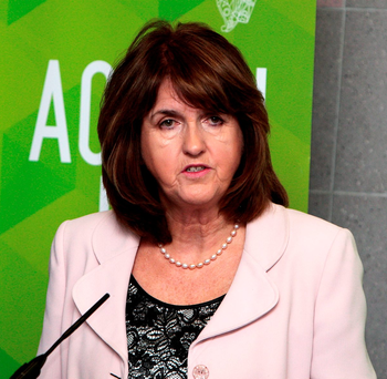 Tánaiste Joan Burton Photo: Tom Burke
