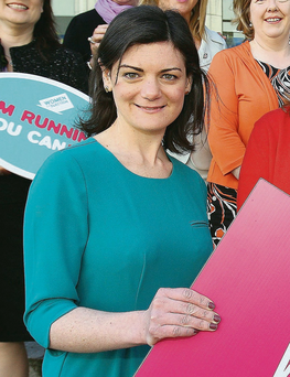 Niamh Gallagher: 'We should recognise the unique opportunity this election presents and seize it by giving serious and thoughtful consideration to the women on our ballot paper next week.' Photo: Tom Burke