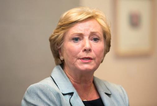 Fine Gael's Frances Fitzgerald. Photo: Collins