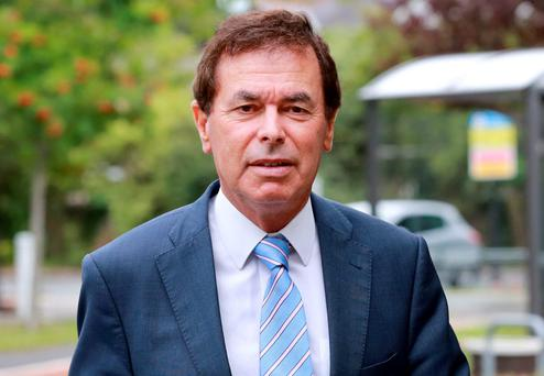 Fine Gael's Alan Shatter. Photo: Frank McGrath