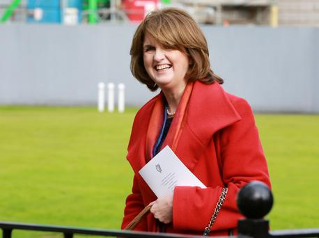 POWER: Joan Burton. Photo: Frank McGrath