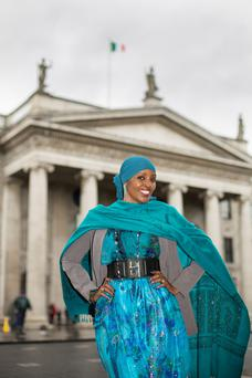 Ifrah Ahmed outside the GPO.
