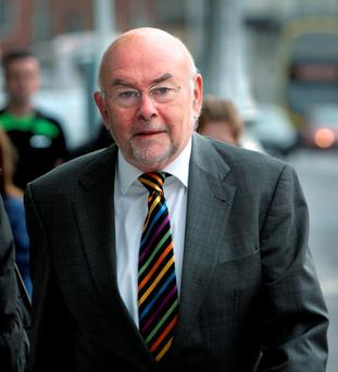 Former Labour leader Ruairi Quinn. Photo: Tom Burke