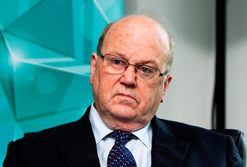 INQUIRY: Michael Noonan. Photo: Tom Burke