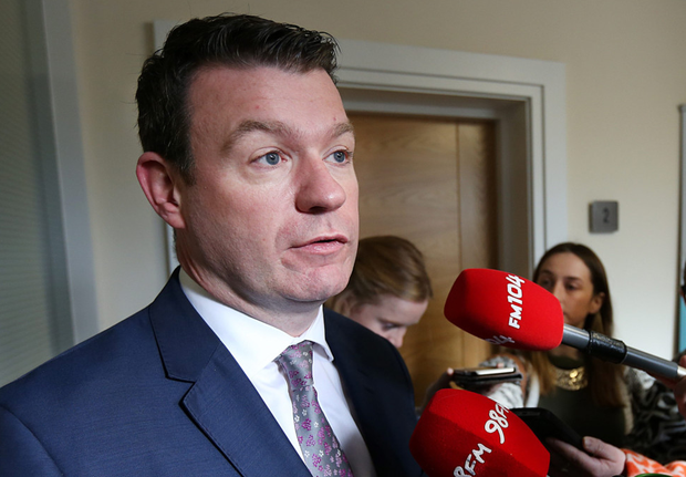 Acting environment minister Alan Kelly: 'In the end, if charges are abolished, people are entitled to a refund, otherwise Fine Gael and Fianna Fail will reward non-payers.' Photo: Steve Humphreys