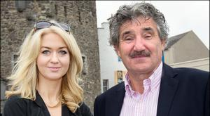 Niamh Horan and John Halligan