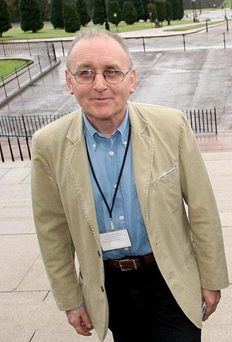 Denis Donaldson, the senior Sinn Féin official and British spy, who was shot in Donegal in April, 2006. Photo: PA