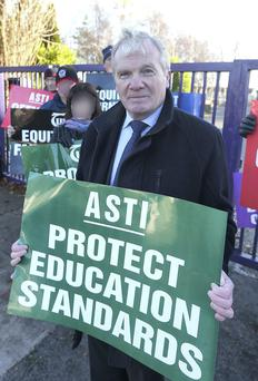 Voice of reason: Pat King, ASTI's former general secretary