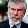 Sinn Féin leader Gerry Adams. Photo: Steve Humphreys