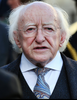Michael D Higgins is a President for his comrades, not the ...