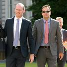 Simon Coveney and Leo Varadkar