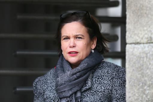 Steadfast about her party's stance: Mary Lou McDonald