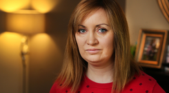 Councillor Vicki Casserly at her home in Lucan. Photo: Steve Humphreys