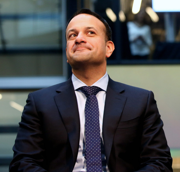 Taoiseach Leo Varadkar's personal approval rating has been compared to that of Bertie Ahern at the peak of his power. Picture: Gerry Mooney