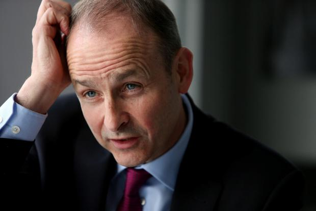 Stick or twist?: Martin must decide when it is the best time to pull the plug on his party's marriage of convenience with Fine Gael. Photo: Gerry Mooney