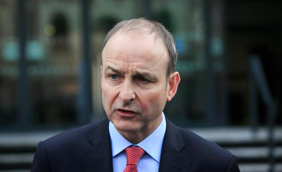 Micheál Martin has committed to one more budget. Photo: Brian Lawless/PA. Photo: Gareth Chaney Collins