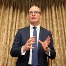 Simon Coveney Photo: Tom Burke