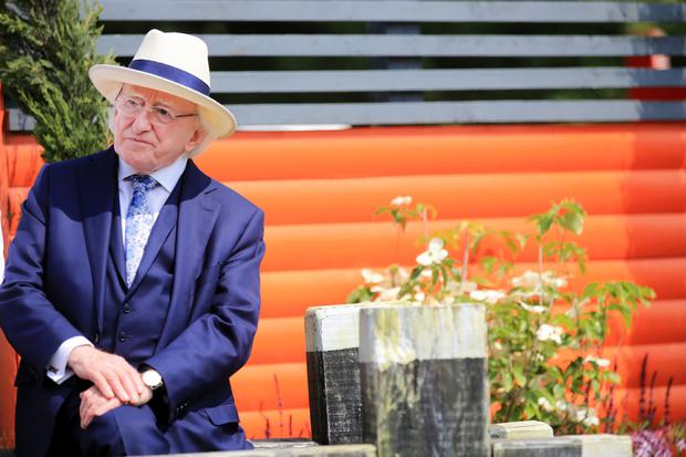 Michael D Higgins. Photo: Gerry Mooney