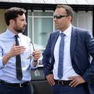 Housing Minister Eoghan Murphy with Taoiseach Leo Varadkar