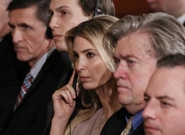 The book tells of an expletive-laden row between Ivanka Trump and Steve Bannon the former chief White House strategist