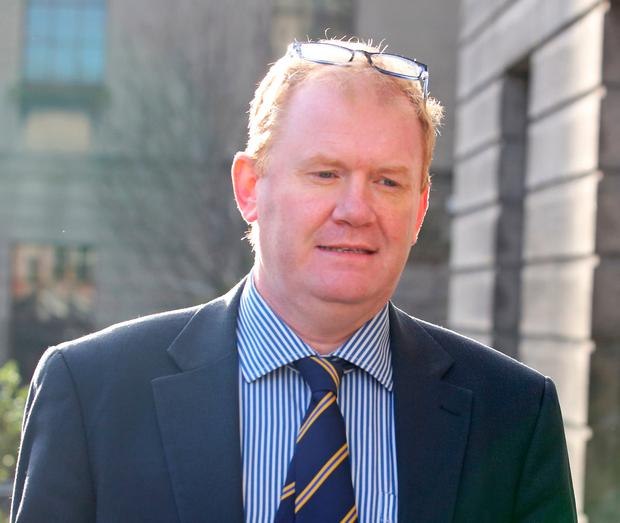 Former junior minister Paudie Coffey in a defamation action against the 'Kilkenny People', at the High Court, Dublin