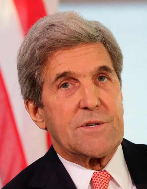 John Kerry. Picture: PA