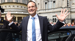 ALOOF PERSONA: Leo Varadkar could soon face a political crisis