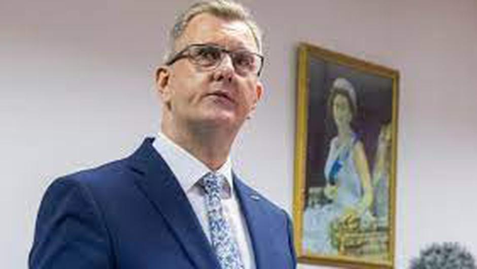 Mr Jeffrey Donaldson said his party was also immediately withdrawing from north-south political institutions on the island of Ireland
