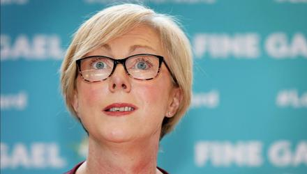 Questions include whether Regina Doherty of Fine Gael, who was not re-elected as a TD in the 2020 General Election, had the right to continue in office. Photo: Steve Humphreys