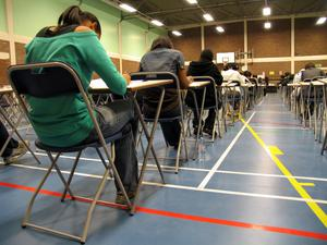 The predictive grades solution simply perpetuates the innate cruelty of our outdated final school examination process. (stock photo)