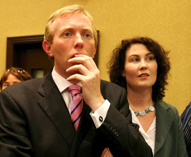 Timmy Dooley and his wife Emer. Photo: Eamon                   Ward